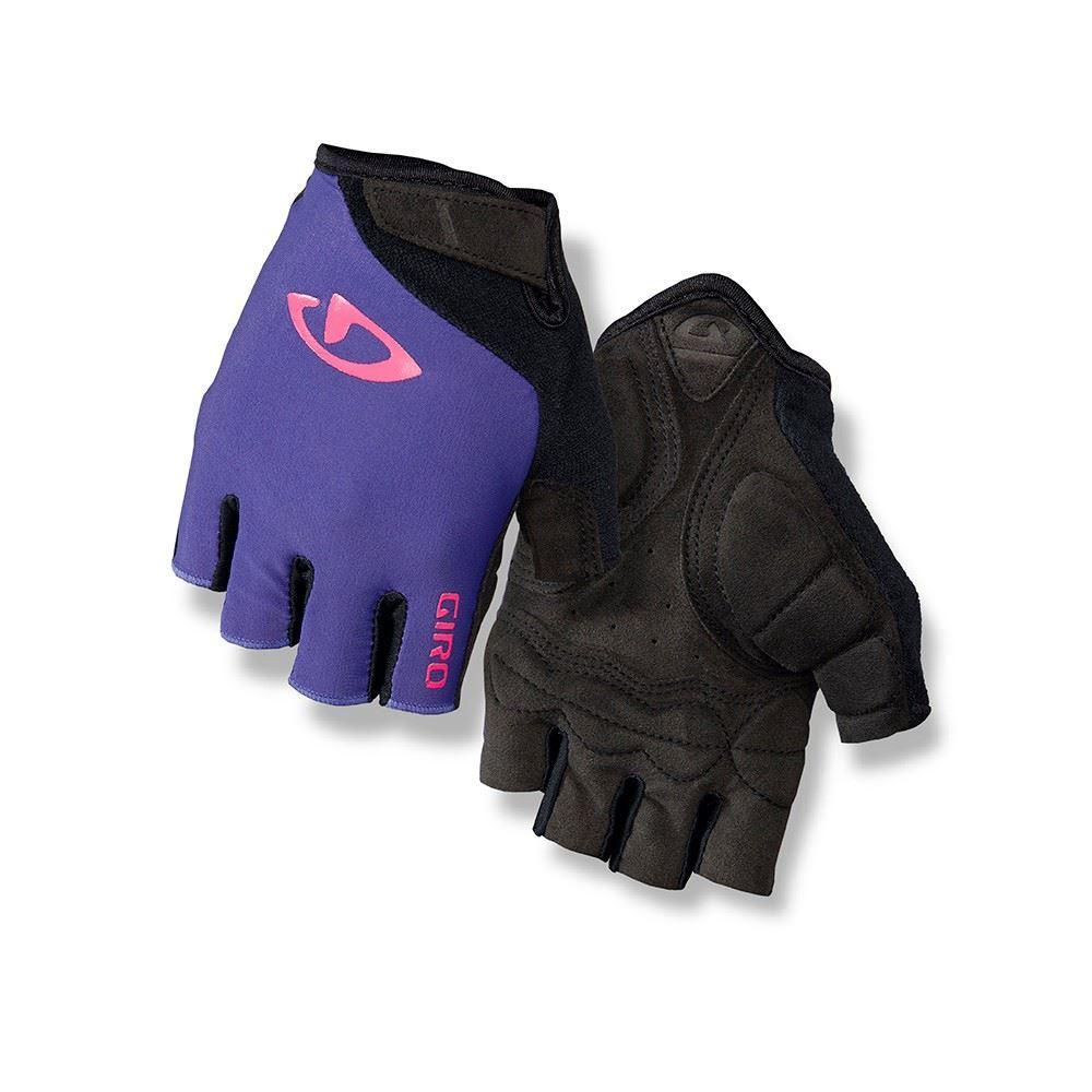 d84a2cc79 Cyklistické rukavice dámské GIRO JAG´ETTE-ultraviolet/bright pink-S